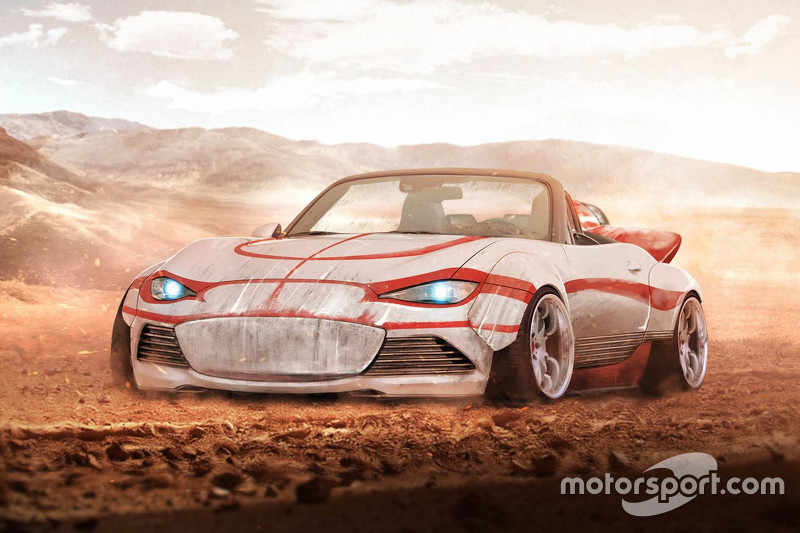 Land Speeder de Luke Skywalker, Mazda MX-5 Edition