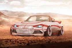 Luke Skywalker, Mazda MX-5, Land-Speeder-Edition