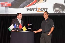 Juan Pablo Montoya talks about his Indy 500 win