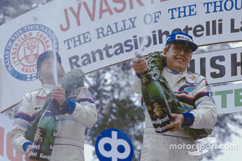 Sieger: Timo Salonen und Seppo Harjanne, Peugeot 205 T16