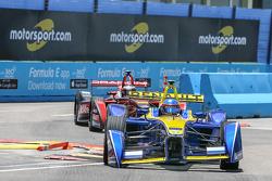 Nicolas Prost, Renault e.Dams, und Jerome d'Ambrosio, Dragon Racing