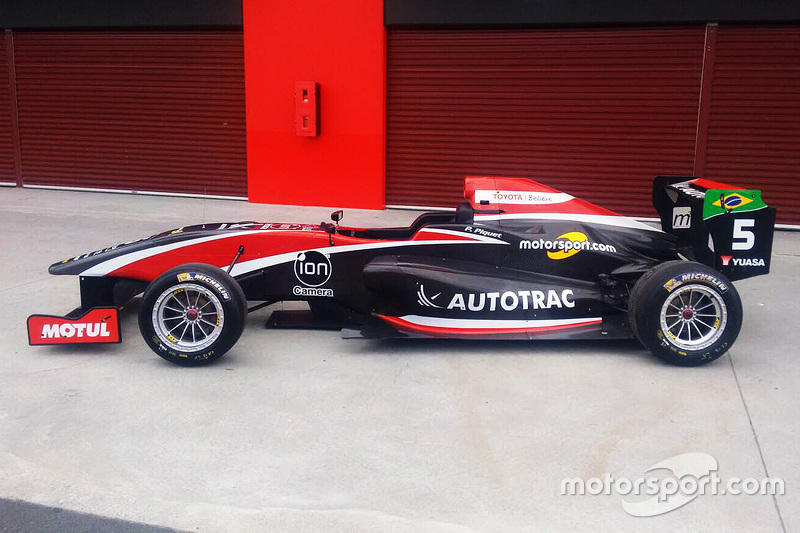 Pedro Piquet's Toyota Racing Series livery