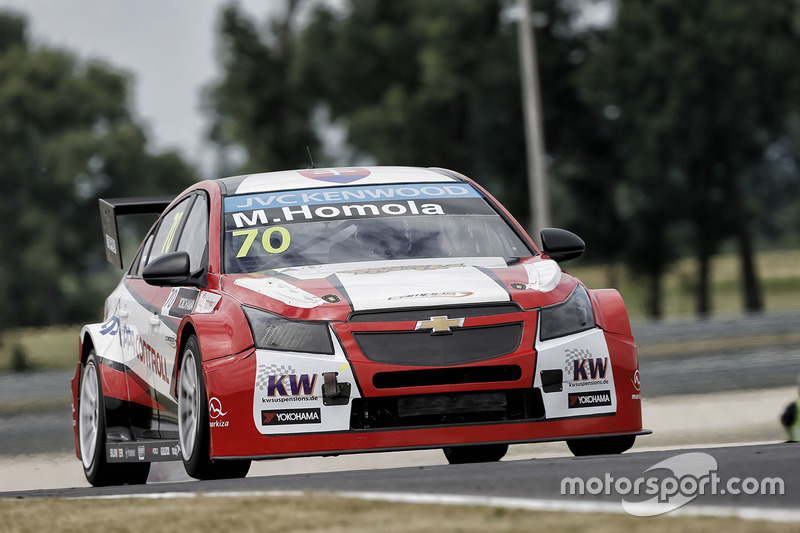 Матей Хомола, Chevrolet RML Cruze TC1, Campos Racing