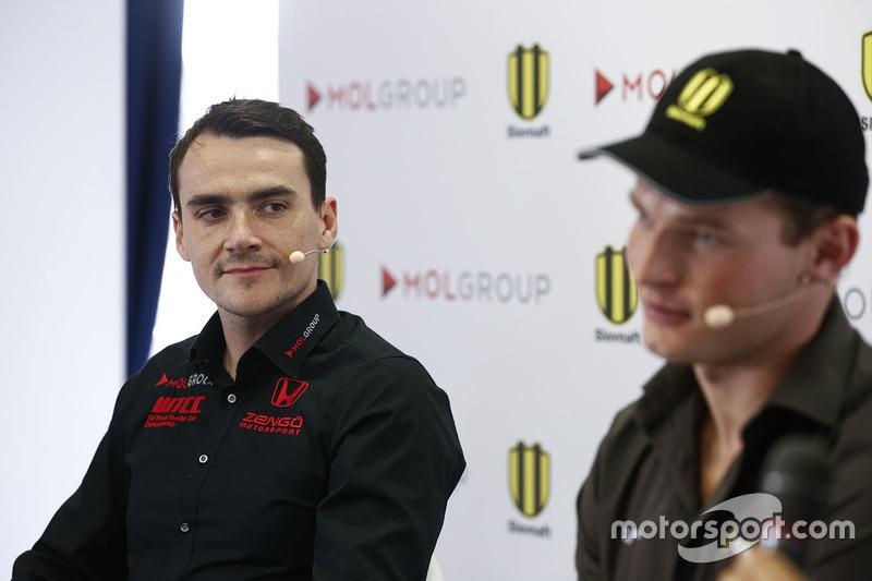 Norbert Michelisz, Honda Civic WTCC, Zengo Motorsport y Stefan Svitko