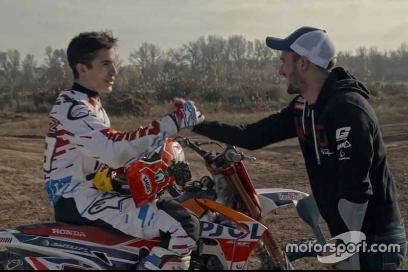 Marc Marquez, Repsol Honda Team, e Dany Torres