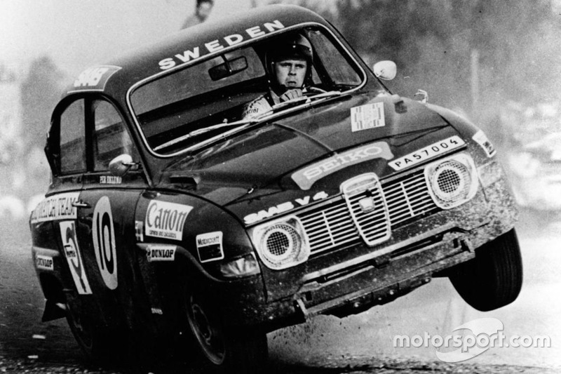 Erik Carlsson, SAAB 96 Rally