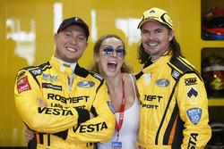 Rob Huff, Lada Vesta WTCC, Lada Sport Rosneft und James Thompson, Lada Vesta WTCC, Lada Sport Rosnef