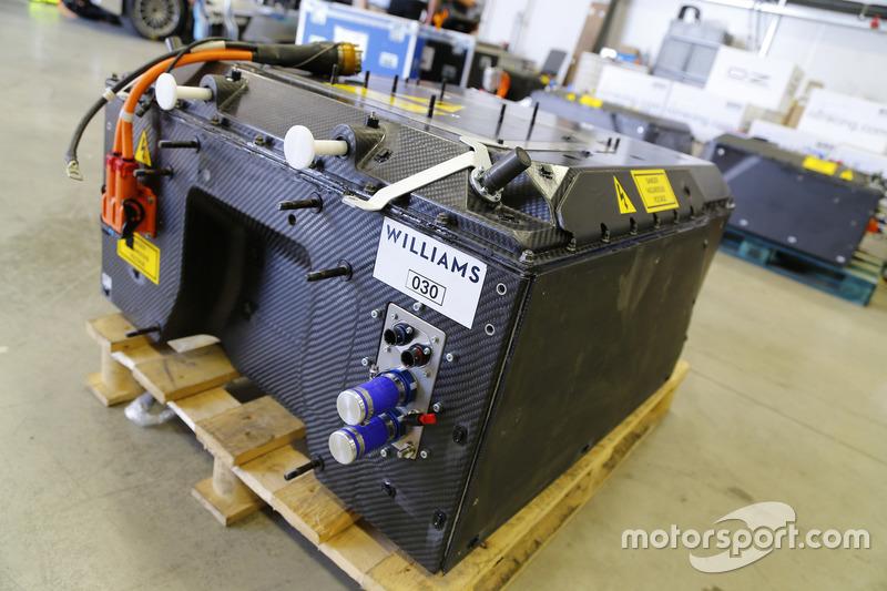 Formula E. batteria Williams