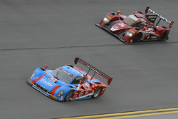 #01 Chip Ganassi Racing Riley DP Ford: Lance Stroll, Alexander Wurz, Brendon Hartley, Andy Priaulx;  #70 Mazda Motorsports Mazda Prototype: Joel Miller, Tom Long, Ben Devlin