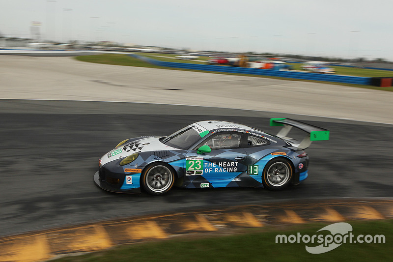 Mario Farnbacher und Wolf Henzler (Alex-Job-Porsche)