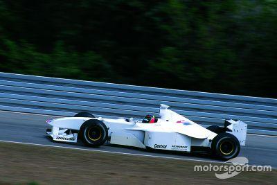 F1 BMW Test Jörg Müller