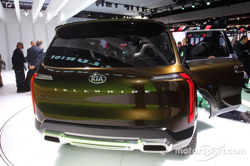 Kia Telluride At North American International Auto Show Automotive - Kia car show