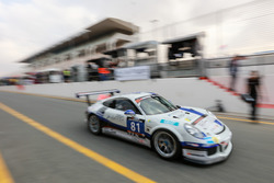 #81 Lechner Racing Middle East Porsche 991 Cup: Ханнес Ваймер, Вольфганг Тріллер, Чарлі Фряйнс, Кріс