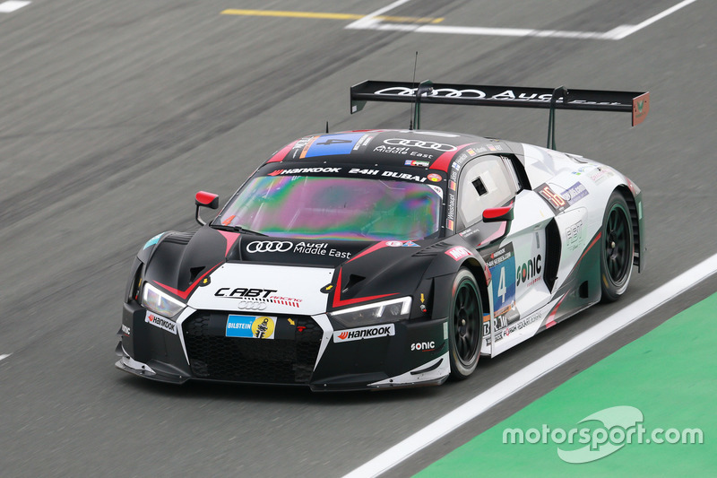 #4 C. ABT Racing Audi R8 LMS: Christer Jöns, Andreas Weishaupt, Isaac Tutumlu Lopez, Matias Henkola, Daniel Abt