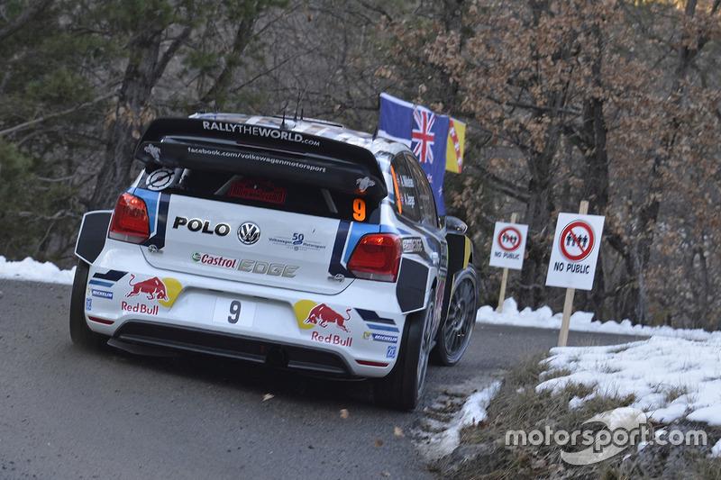 Andreas Mikkelsen and Anders Jäger, Volkswagen Polo WRC, Volkswagen Motorsport