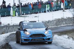 Мадс Остберг и Ола Флене, M-Sport Ford Fiesta WRC