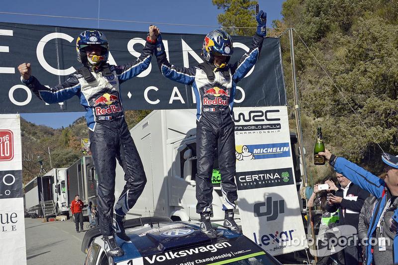 Sieger Sébastien Ogier, Julien Ingrassia, Volkswagen Polo WRC, Volkswagen Motorsport