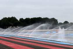 Wet system on track