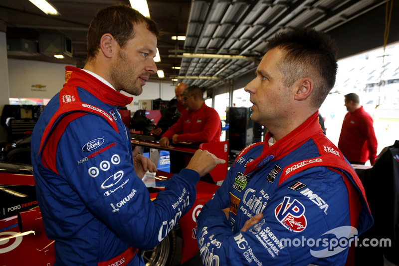 Alexander Wurz y Andy Priaulx