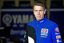 Paul Denning, director del equipo de Pata Yamaha