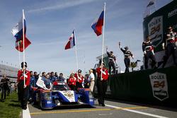Маурицио Медиани, Николя Минассян, Михаил Алёшин и Кирилл Ладыгин, #37 SMP Racing BR01 Nissan