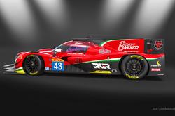 Presentazione dell'auto di Ricardo González, Filipe Albuquerque e Bruno Senna del team RGR Sport by Morand