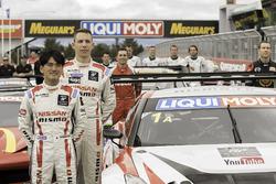 Florian Strauss und Katsumasa Chiyo, Nissan Motorsports