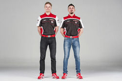Davide Giuliano und Chaz Davies, Team Aruba.it