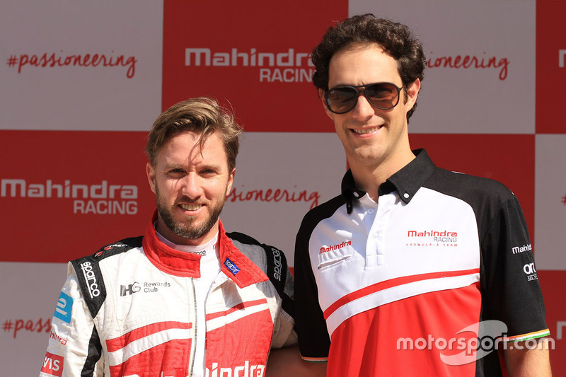 Nick Heidfeld and Bruno Senna, Mahindra Racing
