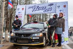 Станислав Травников и Никита Гергель, Mitsubishi Lancer Evo IX R4