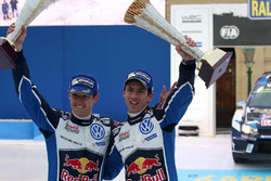 I vincitori Sébastien Ogier, Julien Ingrassia, Volkswagen Motorsport
