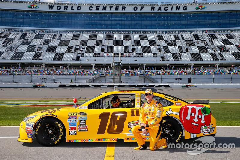 9. Kyle Busch, Joe Gibbs Racing Toyota