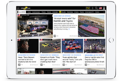 Screen shot Motorsport.com USA