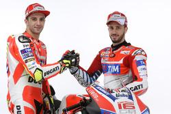 Andrea Iannone und Andrea Dovizioso, Ducati Team