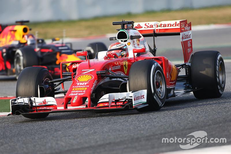 На предсезонных тестах в Барселоне Ferrari регулярно показывала лучшие времена