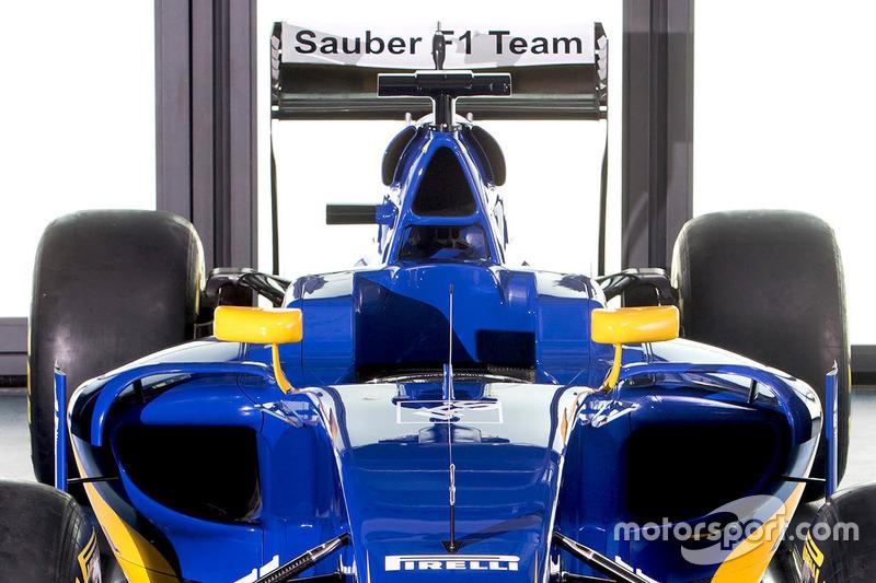 Detalle del Sauber C35
