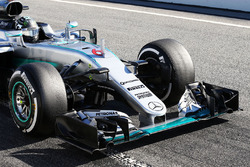 Nico Rosberg, Mercedes AMG F1 front wing