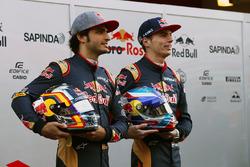Max Verstappen, Scuderia Toro Rosso e il compagno di squadra Carlos Sainz Jr., Scuderia Toro Rosso