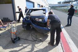 Crash, John Filippi, Campos Racing Chevrolet RML Cruze TC1