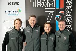 Team75 Bernhard, annuncio piloti