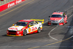Fabian Coulthard, Team Penske Ford and Rick Kelly, Nissan Motorsports