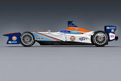 Team Aguri, nuova livrea Gulf Racing