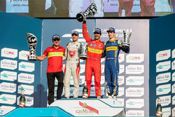 Podio: ganador Lucas di Grassi, ABT Schaeffler Audi Sport, segundo lugar Jérôme d ' Ambrosio, Dragon Racing, tercero Sébastien Buemi, Renault e.DamsSeries: