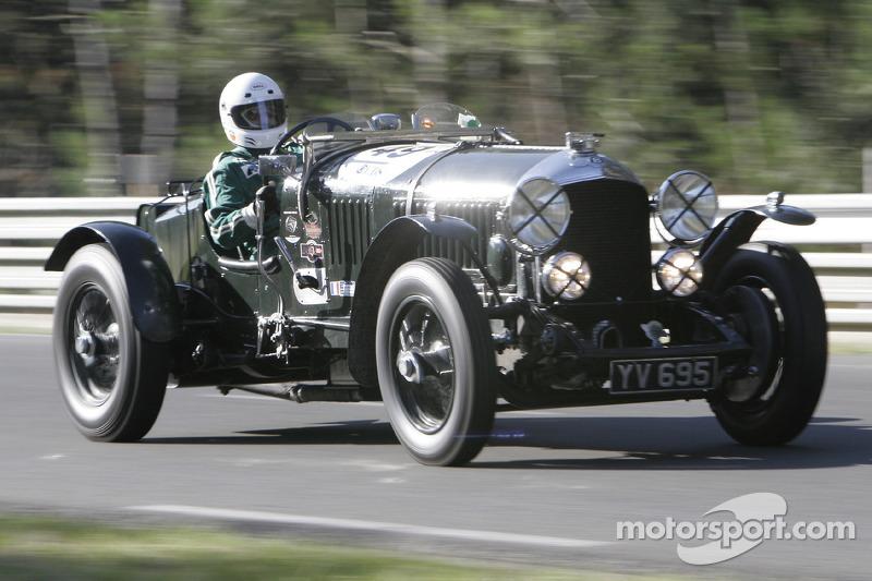 49 Philippe Ghose Lansard Bentley 4 5l Le Mans 1928 At Le Mans