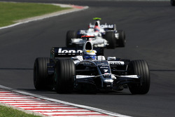 Nico Rosberg, WilliamsF1 Team, FW30 ve Robert Kubica, BMW Sauber F1 Team, F3.08
