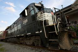 Экскурсионный поезд в Уоткинс-Глене