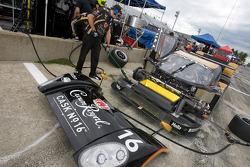 Cheever Racing crew member at work