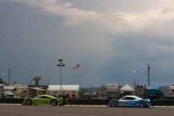 #76 Krohn Racing Pontiac Lola: Nic Jonsson, Ricardo Zonta, #01 Chip Ganassi Racing with Felix Sabates Lexus Riley: Scott Pruett, Memo Rojas