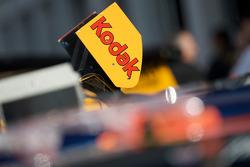Rear wing detail of the Kodak Dodge
