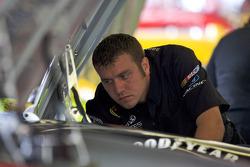 Yates Racing crew member at work